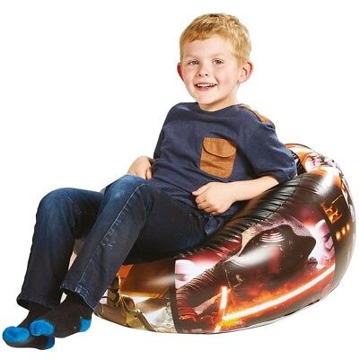 Star Wars Inflatable Chair Seat Blow up Kids Childrens Flocked