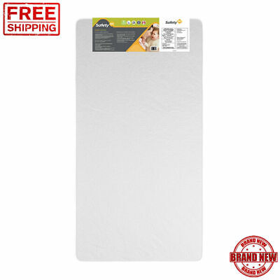 Safety 1st Standard Crib Fit Toddler Mattress Baby Bed Waterproof