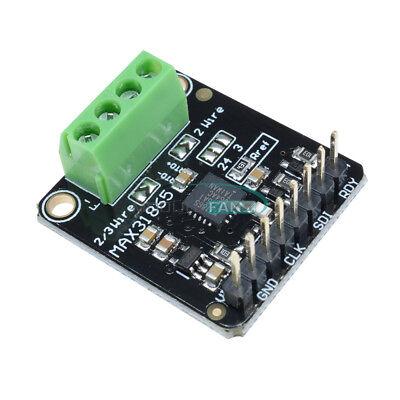 For Arduino Max31865 Pt100 Rtd Temperature Thermocouple Sensor Amplifier Board