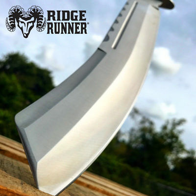 """17"""" TACTICAL HUNTING SURVIVAL RAMBO FIXED BLADE MACHETE KNIFE Camping Axe Sword"""