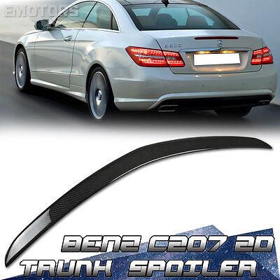 """""""SHIP FROM LA"""" Carbon Mercedes Benz C207 2DR A Type Trunk Spoiler 2016 E350 E250"""
