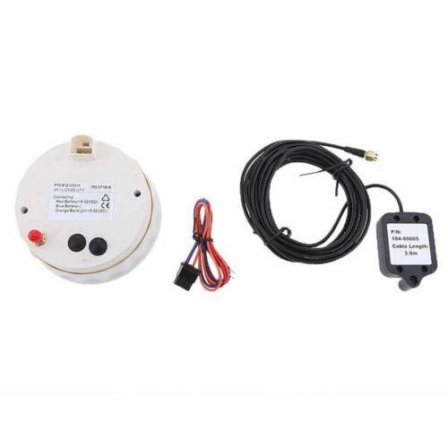 85mm Gps Speedometer Digital Lcd Speed Gauge For Marine