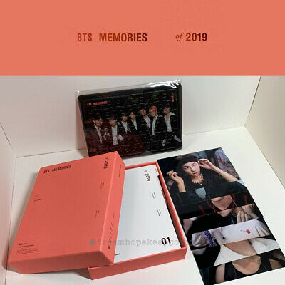 BTS OFFICIAL MD MEMORIES OF 2019 BLU-RAY SET + WEVERSE PRE-ORDER GIFT