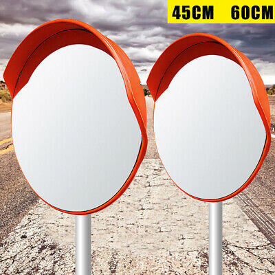 Safety 1824 Convex Traffic Mirror Pc Plastic Wide Angle Driveway Outdoor Road