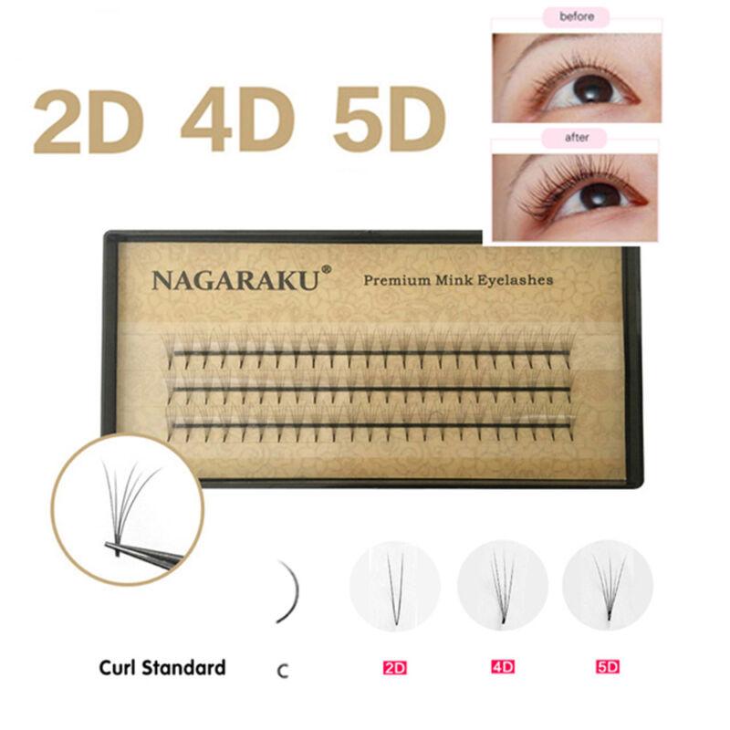 NAGARAKU Premade Fan Volume Eyelash Extensions 0.07 C Curl L
