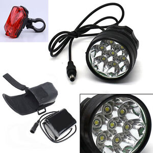 7x Cree XML T6 MTB 12000Lumen Mountain Bike Bicycle Cycling Head Light Headlamp