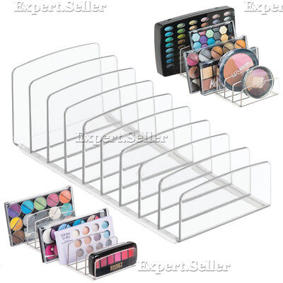 Palette Vanity Organizer Cosmetics and Accessories Storage Makeup Holder Clear