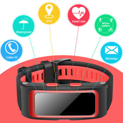 Waterproof Smart Watch Sport Bracelet GPS BT Heart Rate Monitor For IOS Android