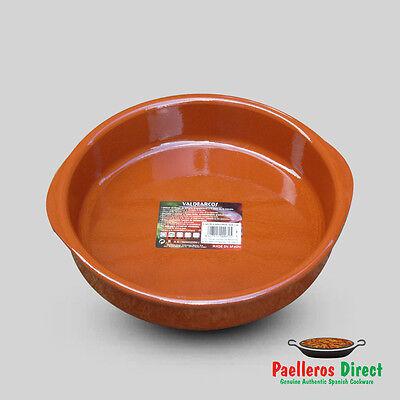 26cm Spanish Terracotta Tapas Dish / Cazuela