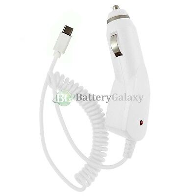 USB Type C Car Charger for Android Phone Samsung Galaxy S8 /