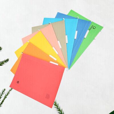 8pcs Suspension File Folder Hanging File Holder Paper Wear-resistant Frame Docum