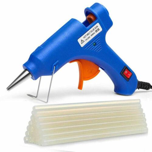 Hot Melt Glue Gun with 30 Mini Clear Glue Sticks for Arts Craft Quick Repair KIT