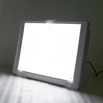White Dental X-ray Film Viewer Illuminator A4-one-side Light Box Panel Full View