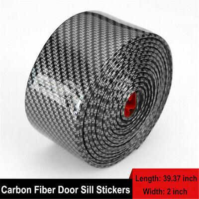 Car Parts - Car Parts Accessories Carbon Fiber Auto Door Welcome Plate Sill Scuff Stickers