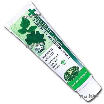 DENTISTE NIGHTTIME TOOTHPASTE FRESH MORNING BREATH GUM TEETH PROTECTION 100gr