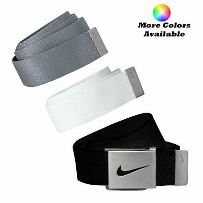 Nike Golf Men's 3 in 1 Web Pack Belts, One Size Fits Most - Select Colors!