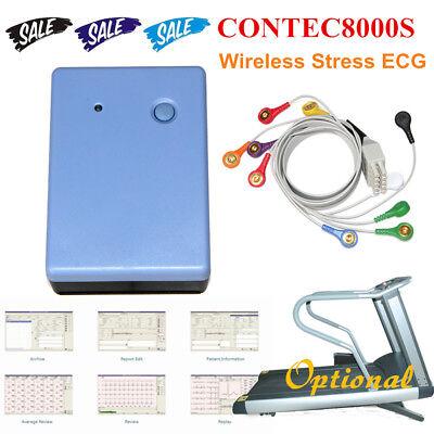Wi-fi Wireless Stress Ecgekg System Exercise Recorder Monitor Software Analyzer