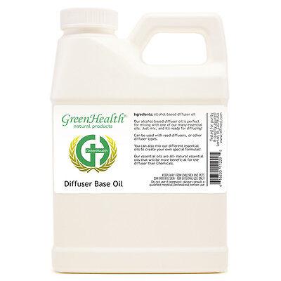 16 oz DIFFUSER REED OIL BASE FOR REFILLING FRAGRANCE - GreenHealth - Oil Base Fragrance
