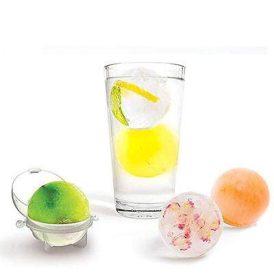 Party Bar Ice Brick Round Sphere Tray Kitchen Maker Mold Mould Ball (Party Ice Tray)