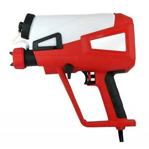 240V Electric Turbine Paint Sprayer HVLP Spray Gun 800ml Emulsion & Gloss 321260