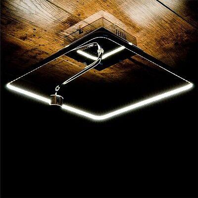 Luxus Decken Beleuchtung LED Ess Wohn Zimmer Leuchte Chrom Wand Lampe 13,2 Watt