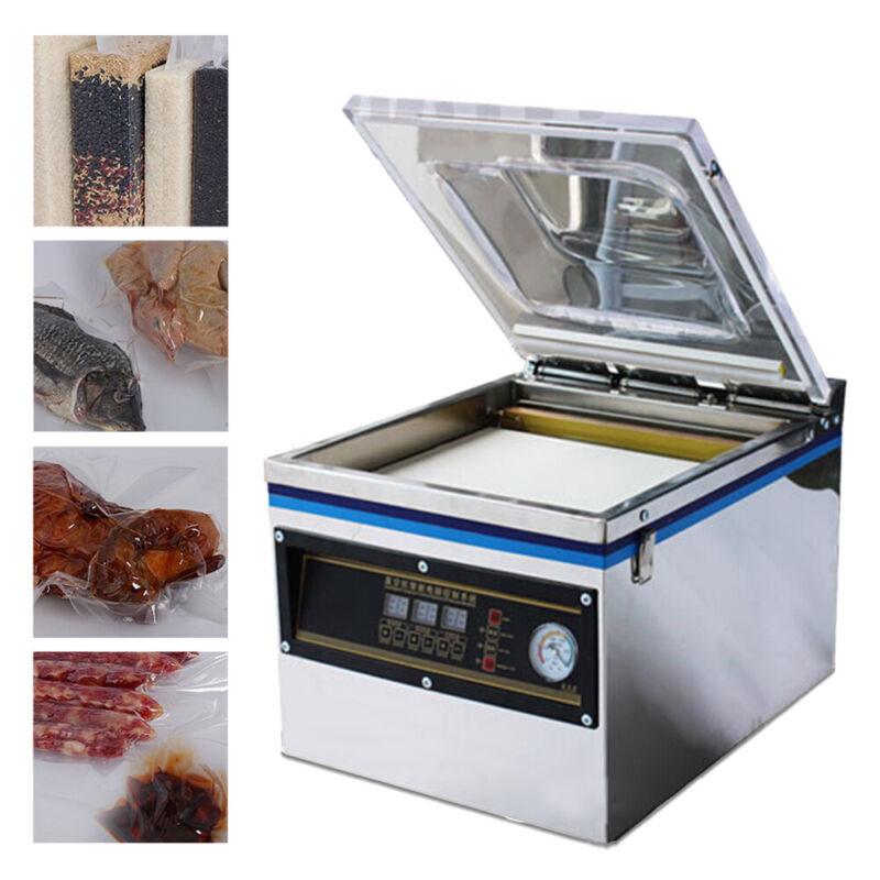 Digital Vacuum Packing Sealing Machine Sealer 800W Packaging Industrial Chamber