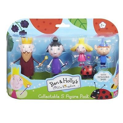 Ben and Holly Little Kingdom 5 Figure Pack