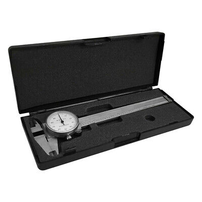 Stainless Steel Dial Caliper 4 Shockproof .001 Graduation
