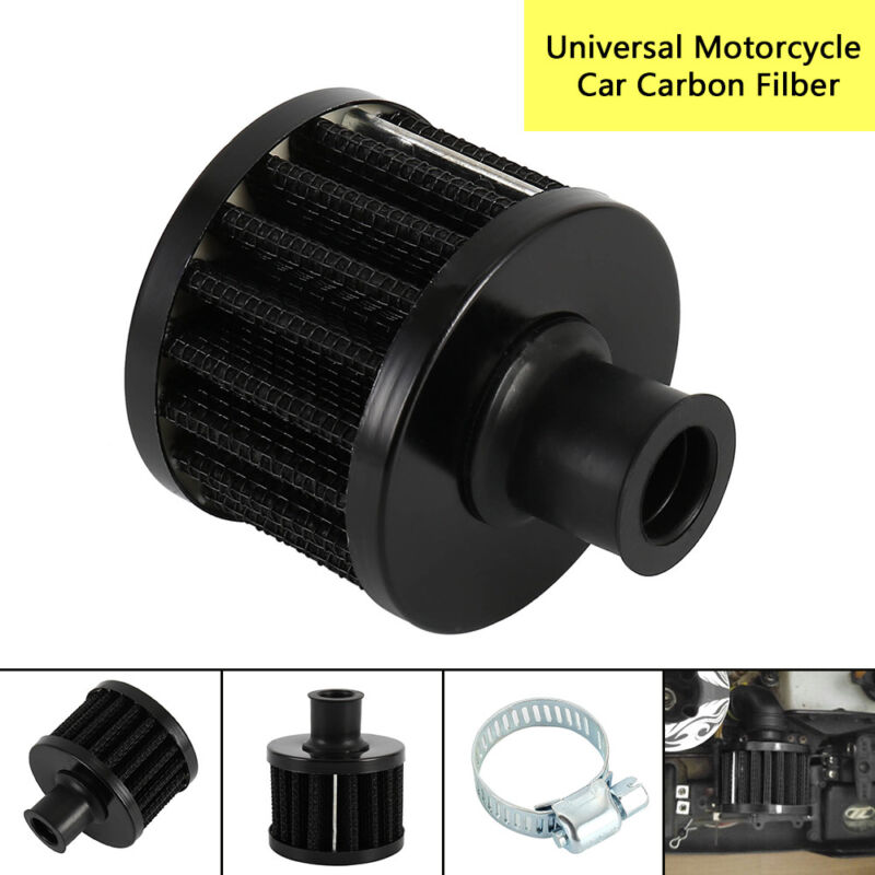 Car Motorcycle 12mm Blue AIR INTAKE CRANKCASE BREATHER FILTER VALVE COVER VENT