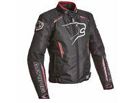New Bering Eskadrille (Blk/Red) Motorcycle Jacket
