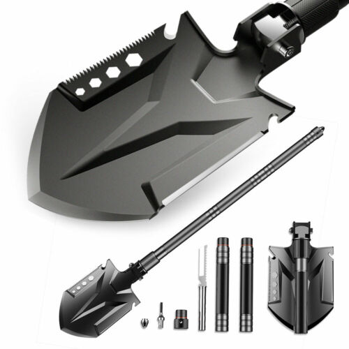 Sirius Survival Multifunctional Tactical Shovel, Folding Outdoor Survival Tool