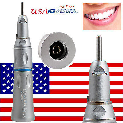 New Dental Slow Low Speed Handpiece Straight Nose Cone Straight Contra Angle
