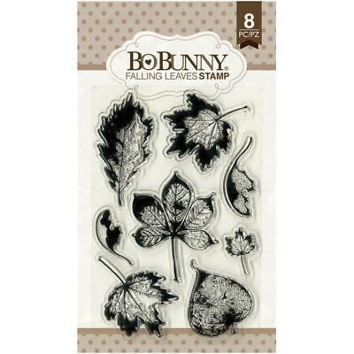 Bo Bunny Clear Stamps - Falling Leaves, Fall Autumn Leaf (Bo Bunny Clear Stamps)