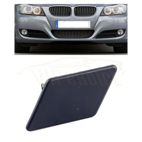 New Left Headlight Washer Nozzle Cover Cap Primed For BMW E90 323i 328i 335i M3