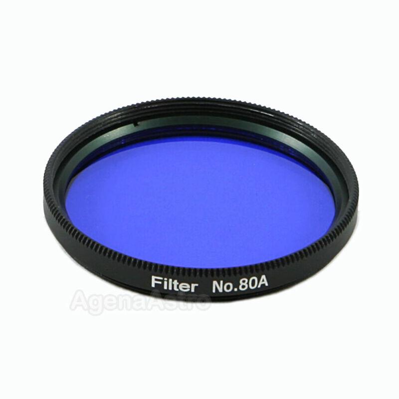 """Agena 2"""" Color / Planetary Filter for Telescope - #80A Medium Blue"""