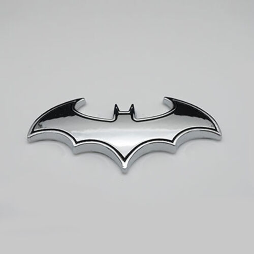 3D Chrome Metal Black//Red Batman Auto car Emblem Sticker Badge logo Tail Decal
