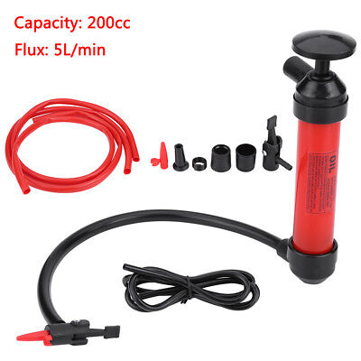 Syphon Transmission Oil Liquid Water Diesel Fuel Air Hand Pump Extractor Tools