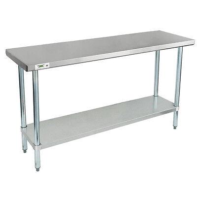 Regency 18 X 60 Stainless Steel Work Prep Table Commercial Restaurant 18 Gauge