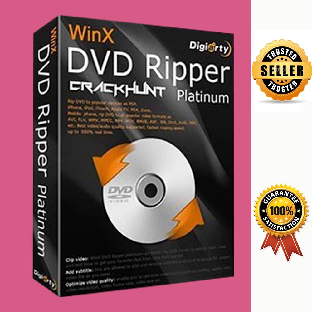 WinX DVD Ripper Platinum 8 ✔ Vollversion ✔ Deutsch ✔FAST VIA EBAY Message ✔