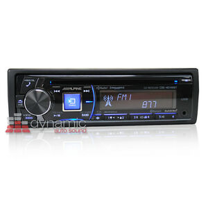 alpine cde hd148bt car stereo receiver w bluetooth hd. Black Bedroom Furniture Sets. Home Design Ideas