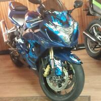 2005 Suzuki GSX-R 600 ONLY 14600 KMS!! Grizzly or Jeep Tj OR?