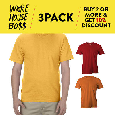 3 PACK AAA ALSTYLE 1304 MENS CASUAL LONG SLEEVE T SHIRT COTTON SHIRTS PLAIN TEE