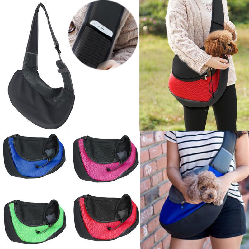 Pet Dog Cat Puppy Carrier Comfort Travel Tote Shoulder Bag Sling Backpack Soft