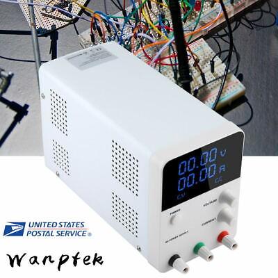 Wanptek Intelligent Dc Power Supply Adjustable Switching Regulator 2 Led Display