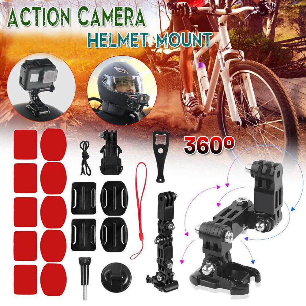 Motorcycle Helmet Chin Mount Holder For GoPro Hero7/6/5/4 Xi