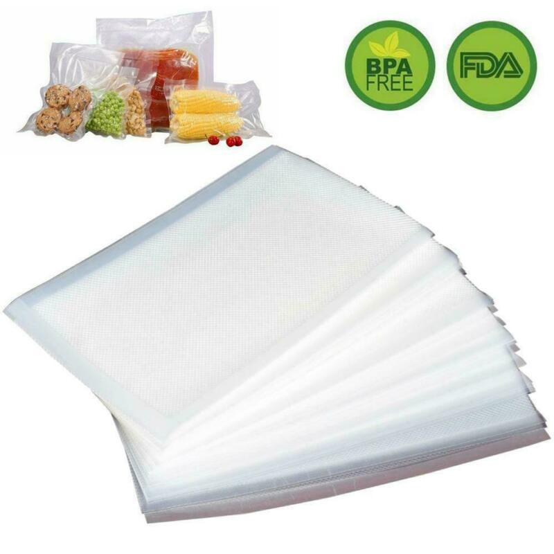100 Quart 8x12 Vacuum Sealer Bags for Food Saver Vac Storage Meal Prep Sous Vide