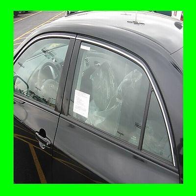 BMW CHROME WINDOW TRIM MOLDING 2PC W/5YR WRNTY+FREE INTERIOR PC 1