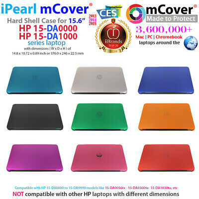 "NEW mCover® Hard Shell Case for 15.6"" HP 15-DAxxxx 15-DA100"