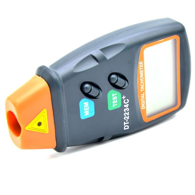 DT-2234C+ Non Contact Digital Auto Range Laser Tachometer RPM Test Measure Tool