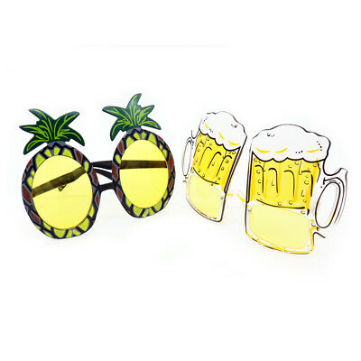 Hawaii Beach Sunglasses Pineapple Beer Halloween Gifts Party Decoration (Beer Party Decorations)
